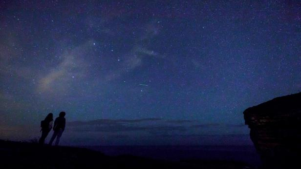 TOPSHOT-SPAIN-ASTRONOMY-METEOR-PERSEID