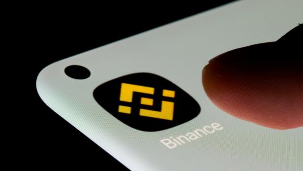 FILE PHOTO: Binance app is seen on a smartphone in this illustration