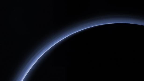 Atmosphäre des Pluto