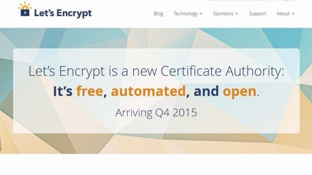 Let\'s Encrypt wird HTTPS-Zertifikate gratis verteilen | futurezone.at
