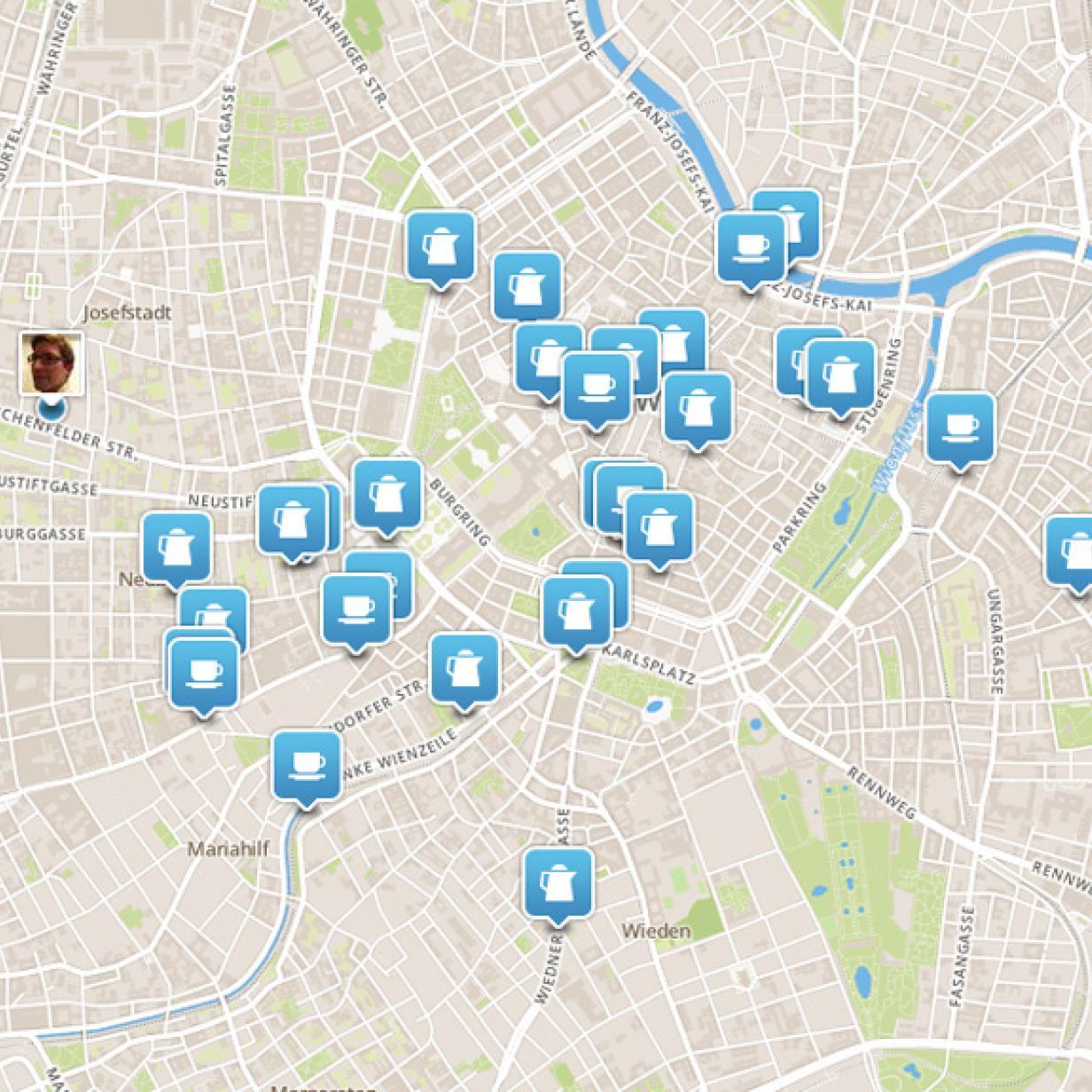 Neue Foursquare App Schlägt Check Ins Vor Futurezoneat