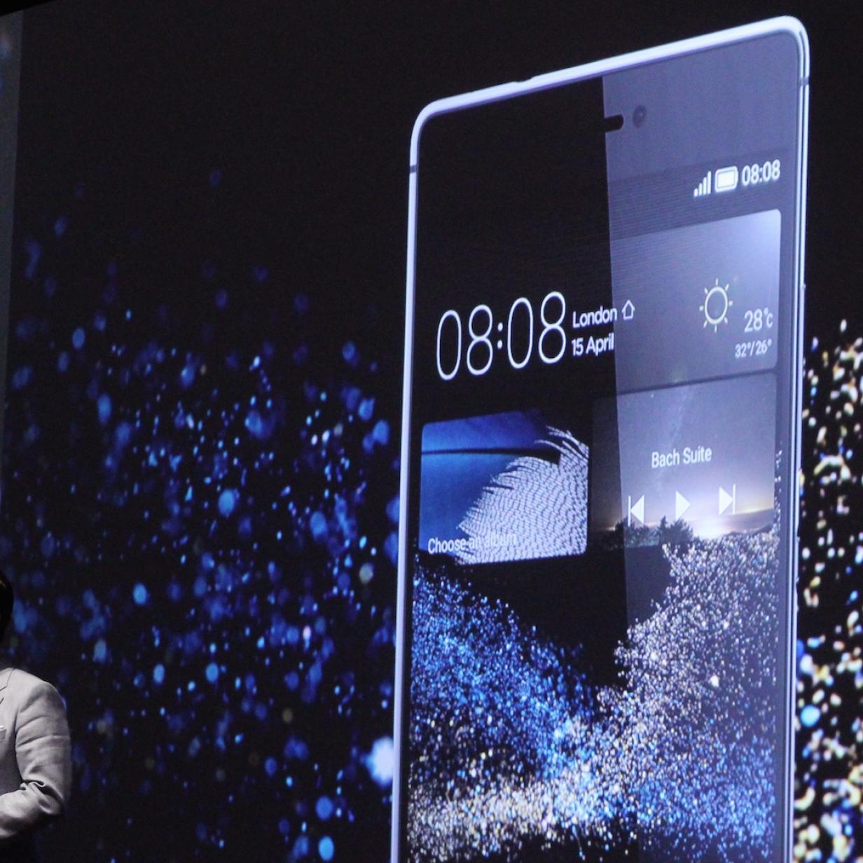 Huawei P8: Lauschendes DSLR-Smartphone vorgestellt