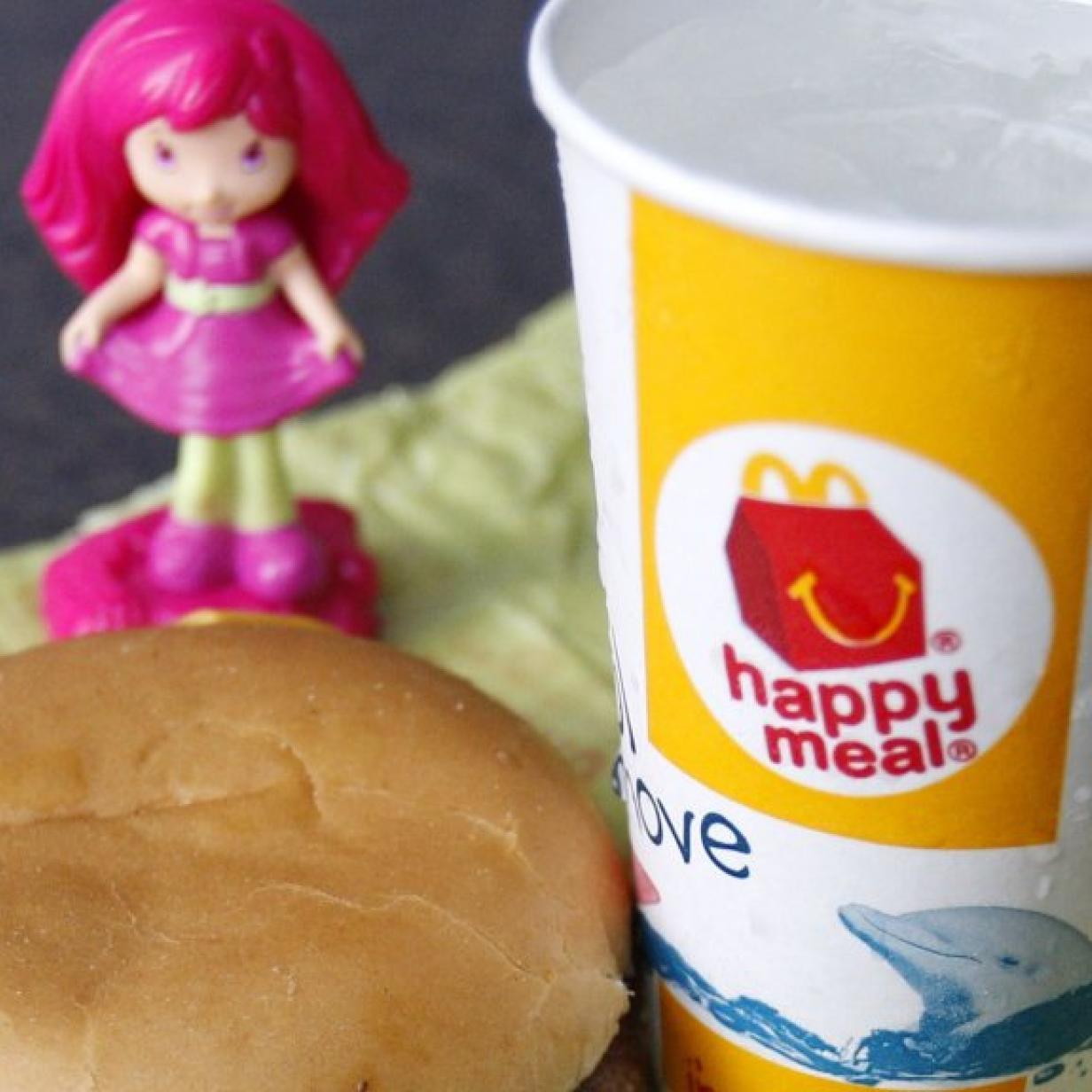 McDonalds plant Happy Meal Spielzeug aus 3D Drucker