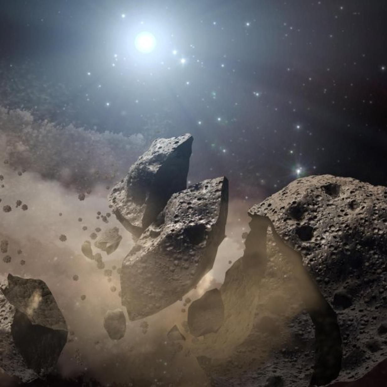 Feuerball-schießender Asteroid könnte der Erde gefährlich werden