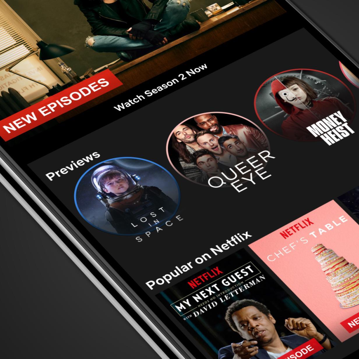 Netflix experimentiert mit einem Zufalls-Button