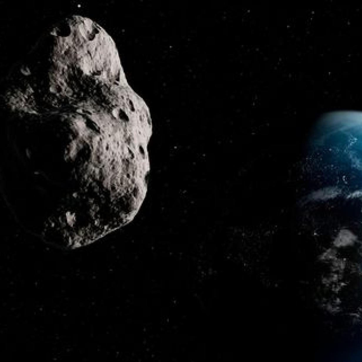 Wasser in Asteroiden kann Treibstoff für Raumschiffe liefern