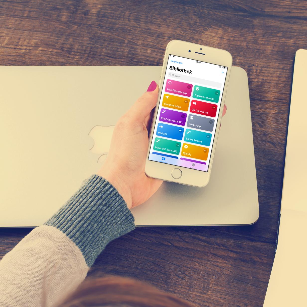Apples neue Shortcuts-App: So automatisiert ihr euer iPhone
