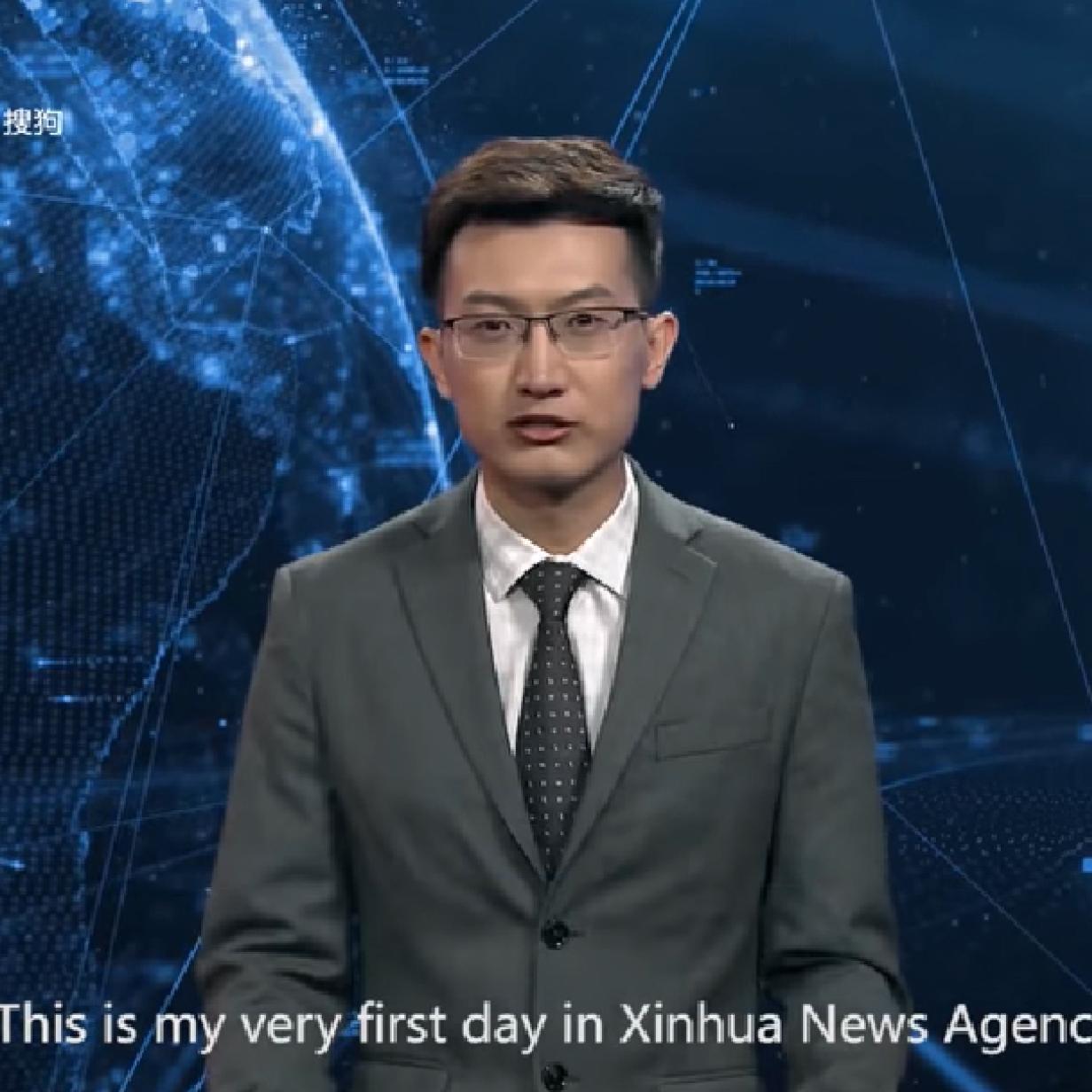 China präsentiert ersten KI-Nachrichtensprecher