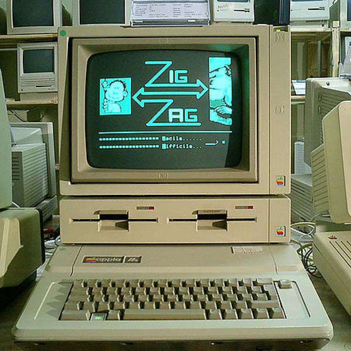 """Funktionstüchtiger """"Apple IIe""""-Rechner in Dachboden gefunden"""