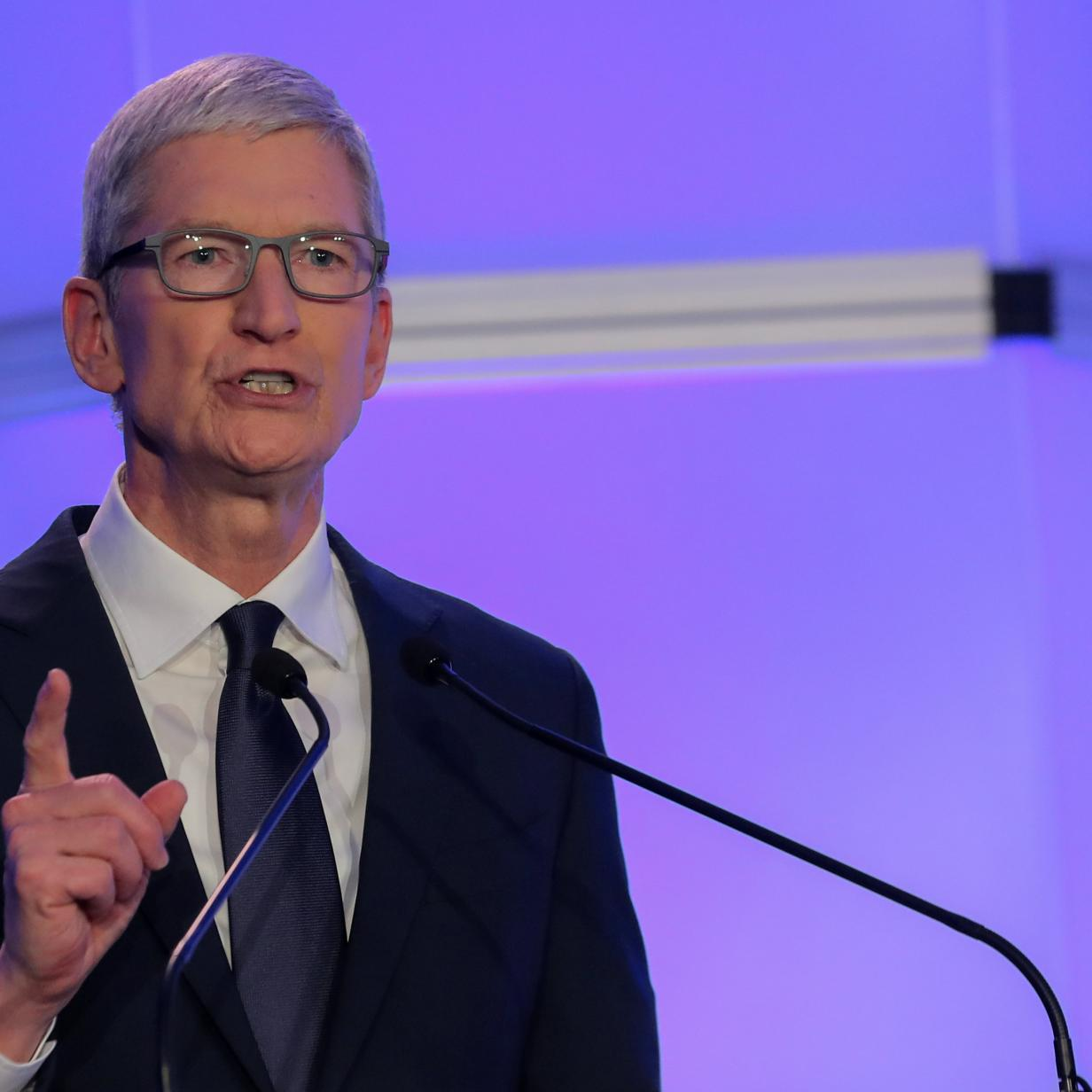Apple-Chef Tim Cook rät Donald Trump von China-Zöllen ab