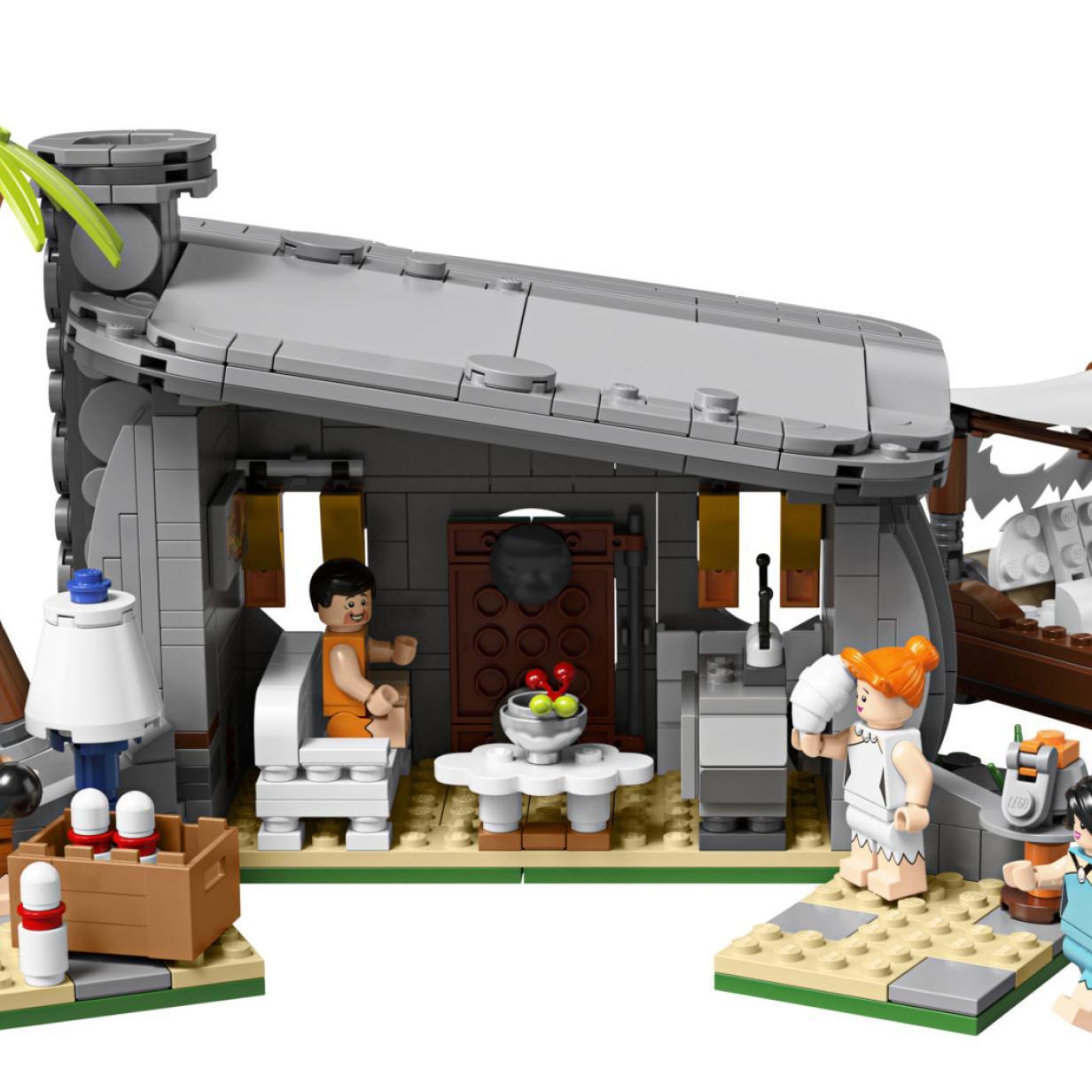 Dino finden und Familie Feuerstein LEGO-Set gewinnen