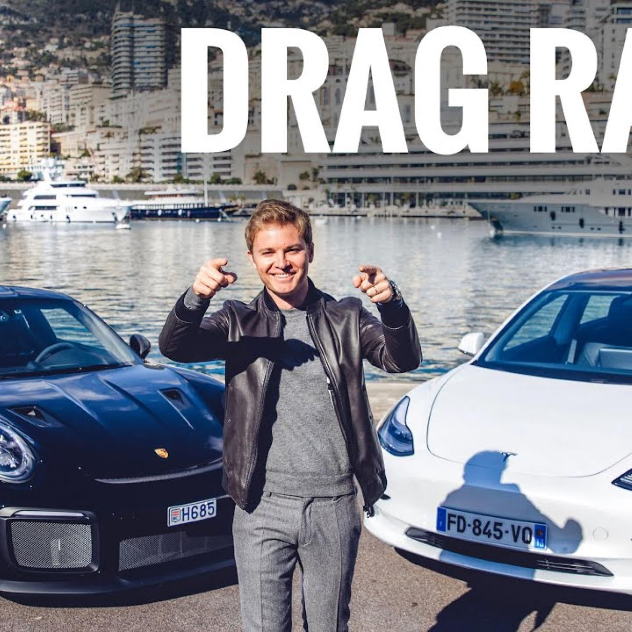 Video: Tesla Model 3 tritt gegen Porsche GT2 RS an
