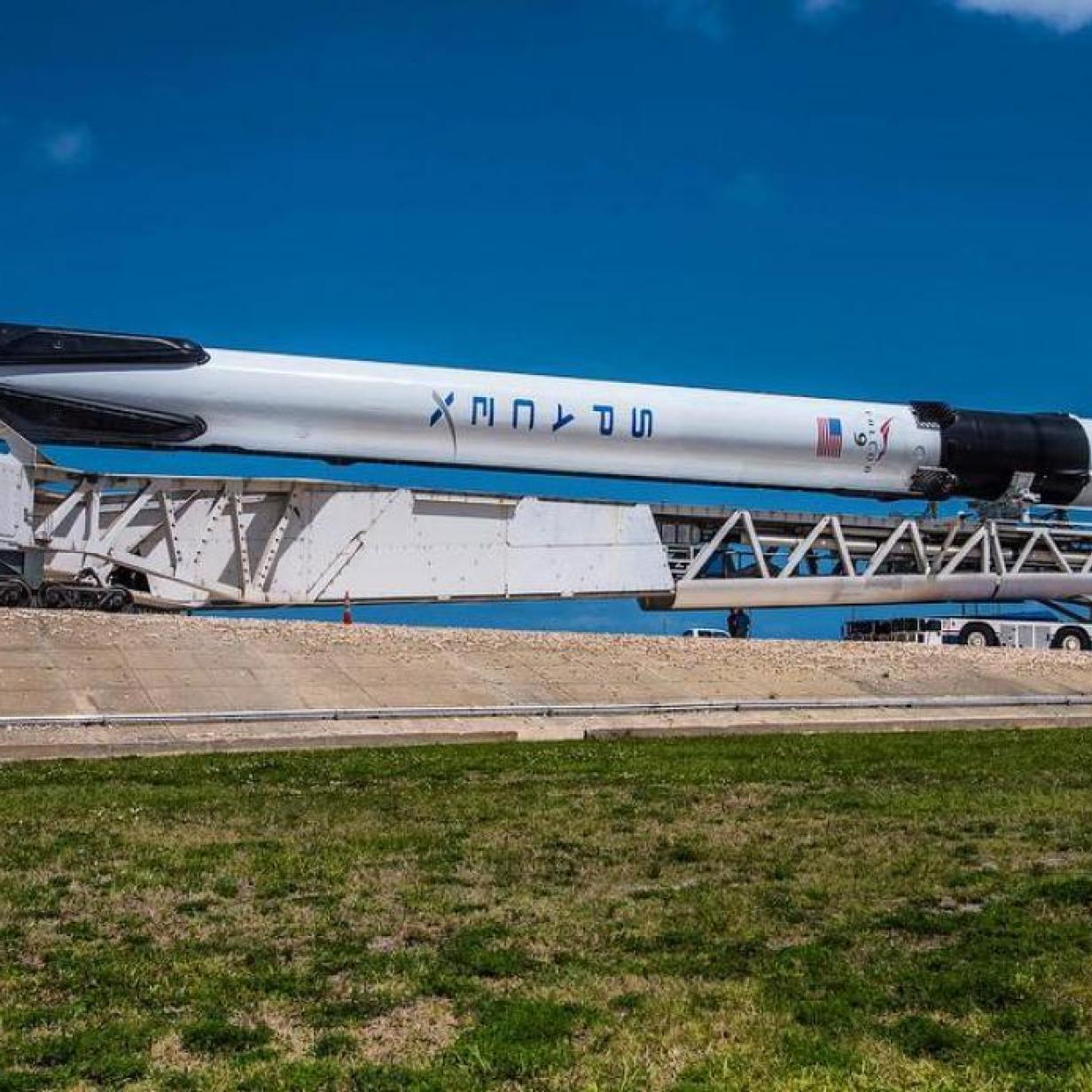Falcon Heavy hebt bald zum zweiten Mal ab