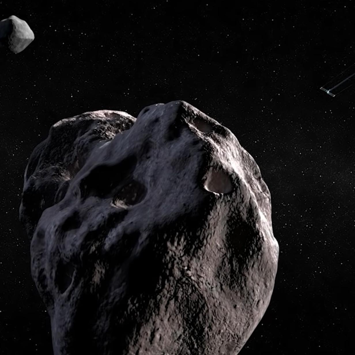 SpaceX hilft NASA einen Asteroiden zu crashen
