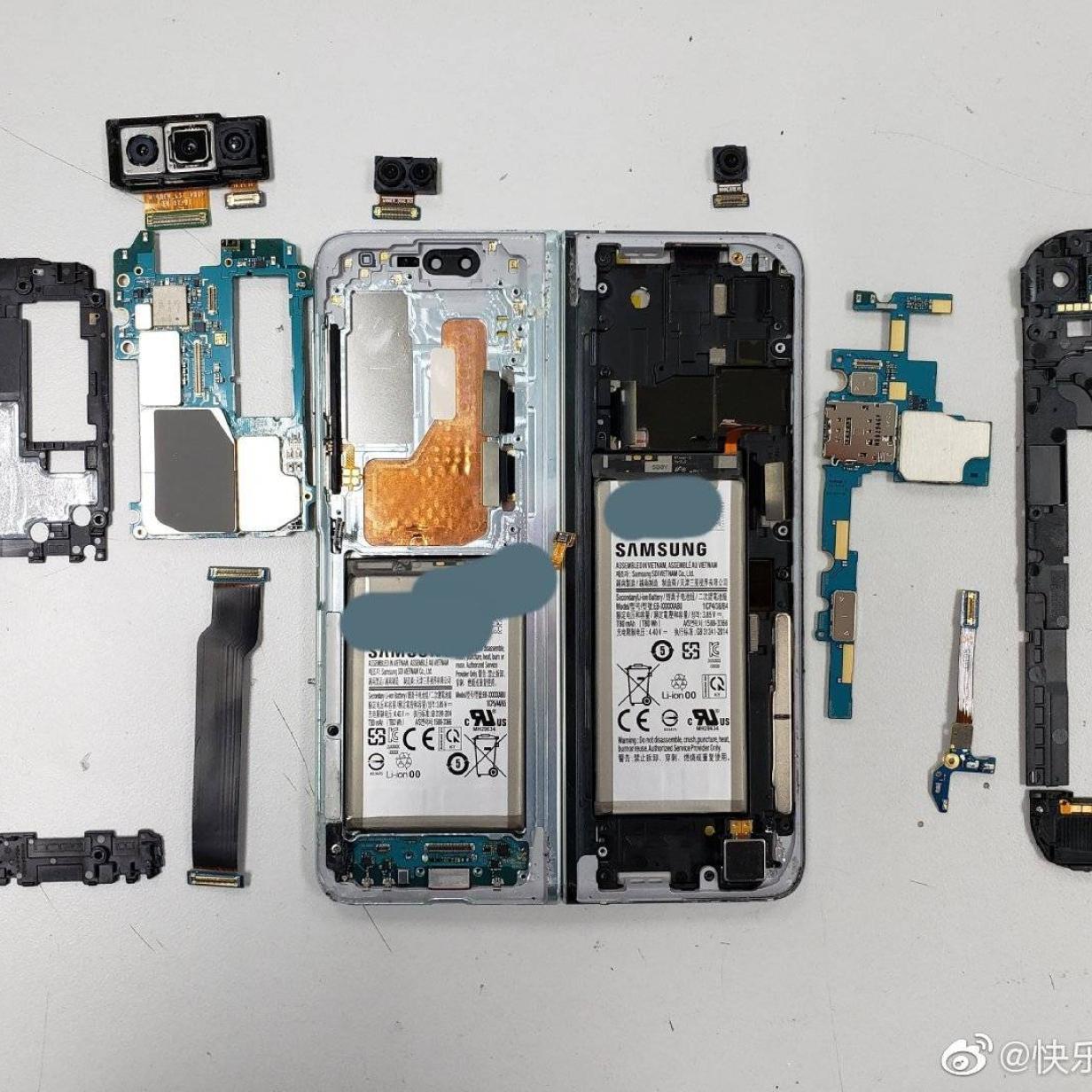 Samsung Galaxy Fold: Faltbares Smartphone nur schwer reparierbar