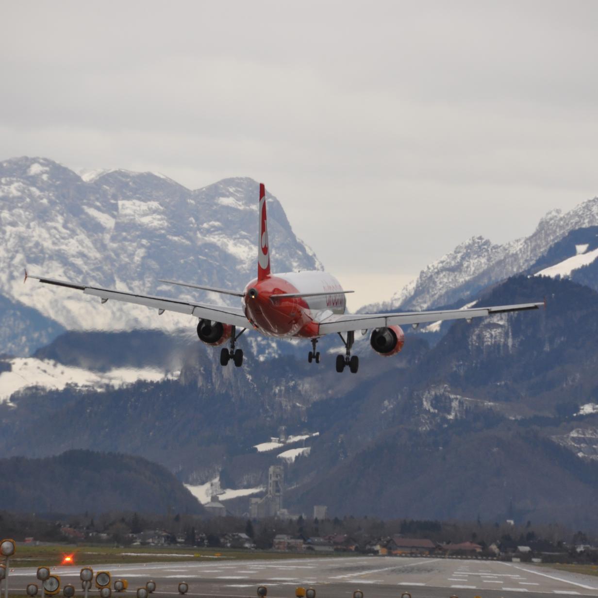 Flughafen Salzburg für vier Wochen komplett gesperrt