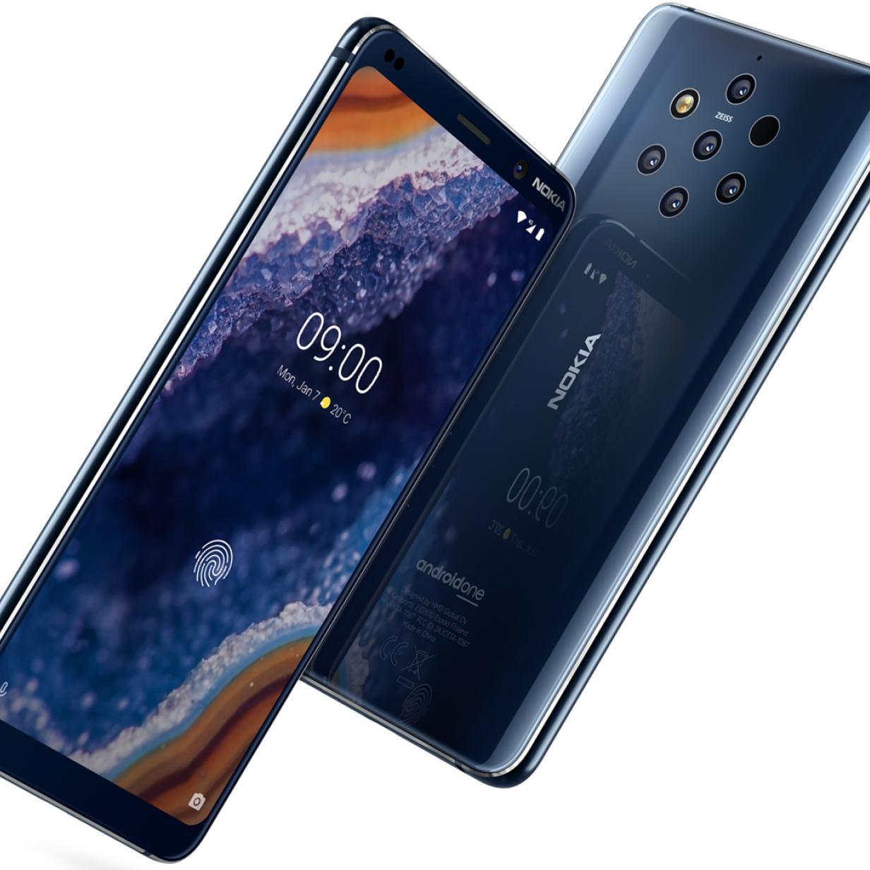 Nokia 9 lässt sich mit Kaugummi statt Fingerabdruck entsperren