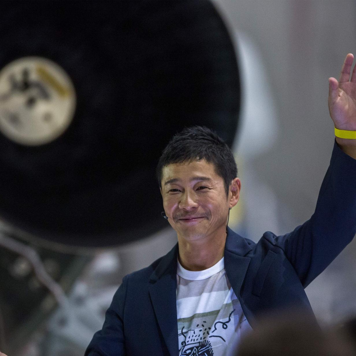 """Erster SpaceX-Weltraumtourist: """"Ich bin pleite"""""""