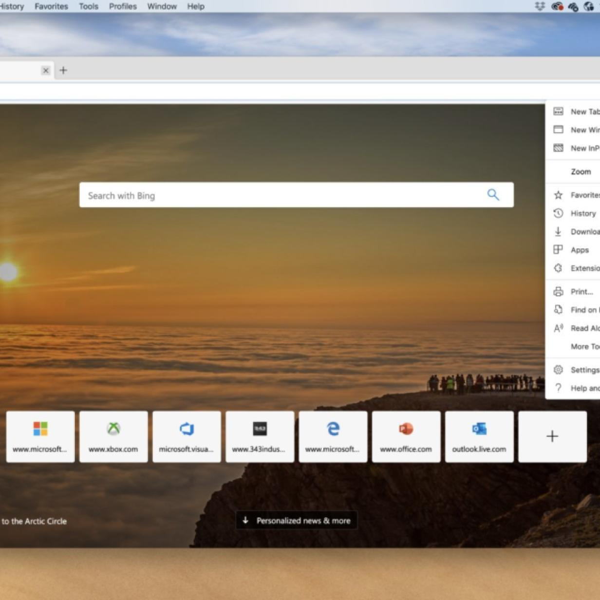 Microsoft veröffentlicht Vorschauversion des Edge-Browsers für Mac