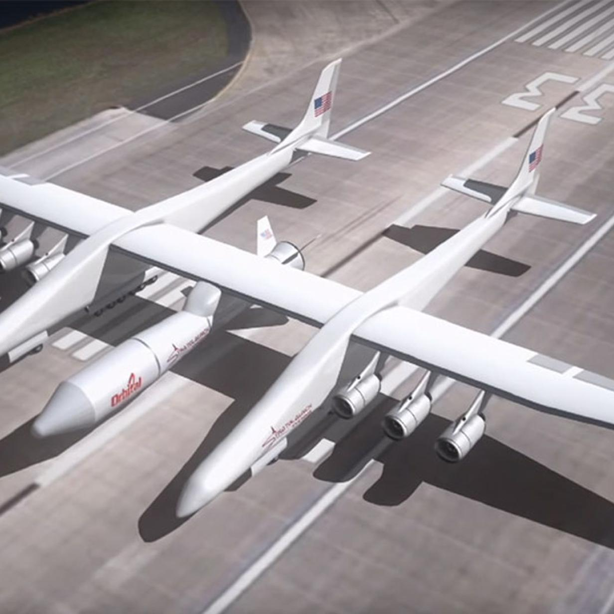 Weltgrößtes Flugzeug Stratolaunch hat einen neuen Besitzer