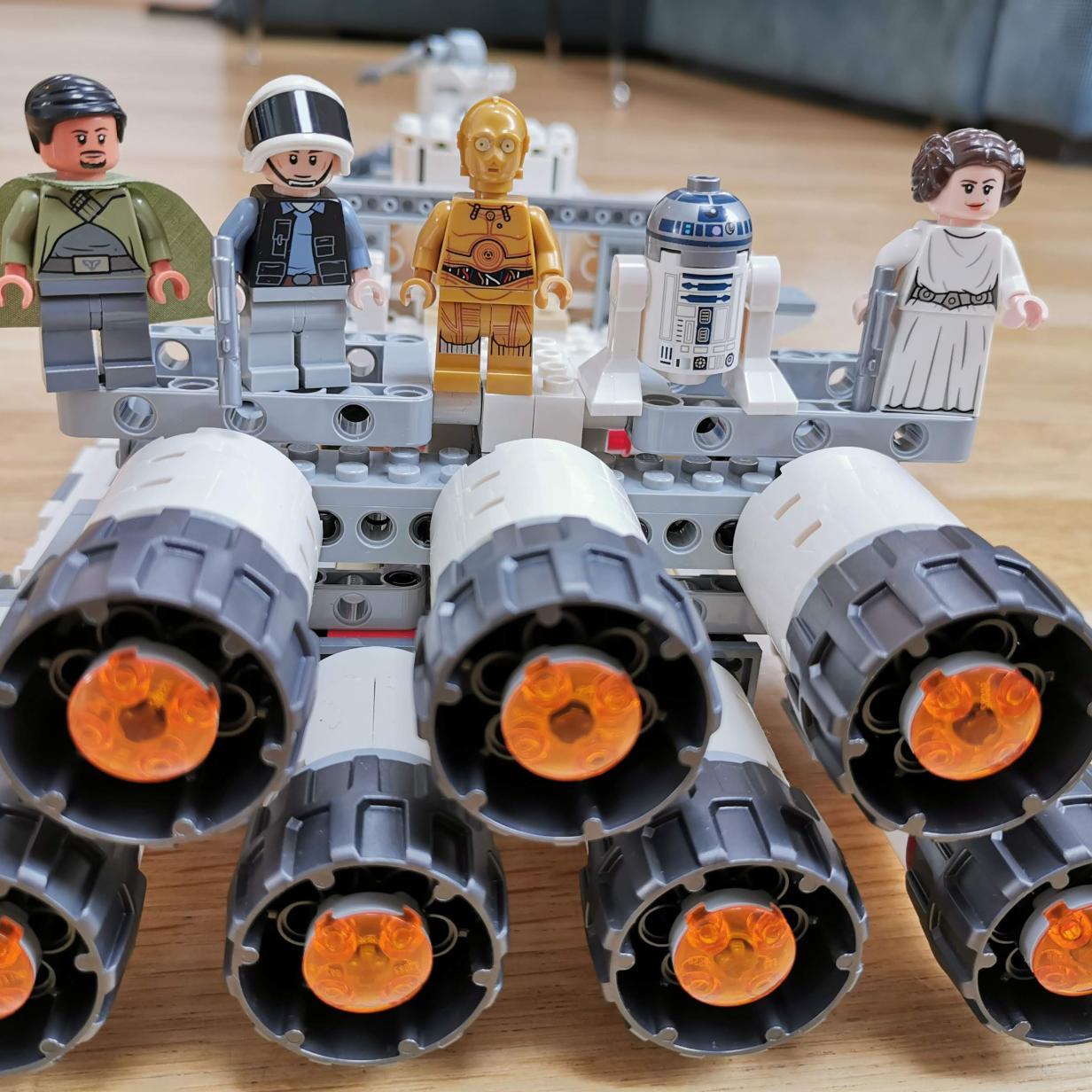 Eine Star-Wars-Legende nachgebaut: Lego Raumschiff Tantive IV