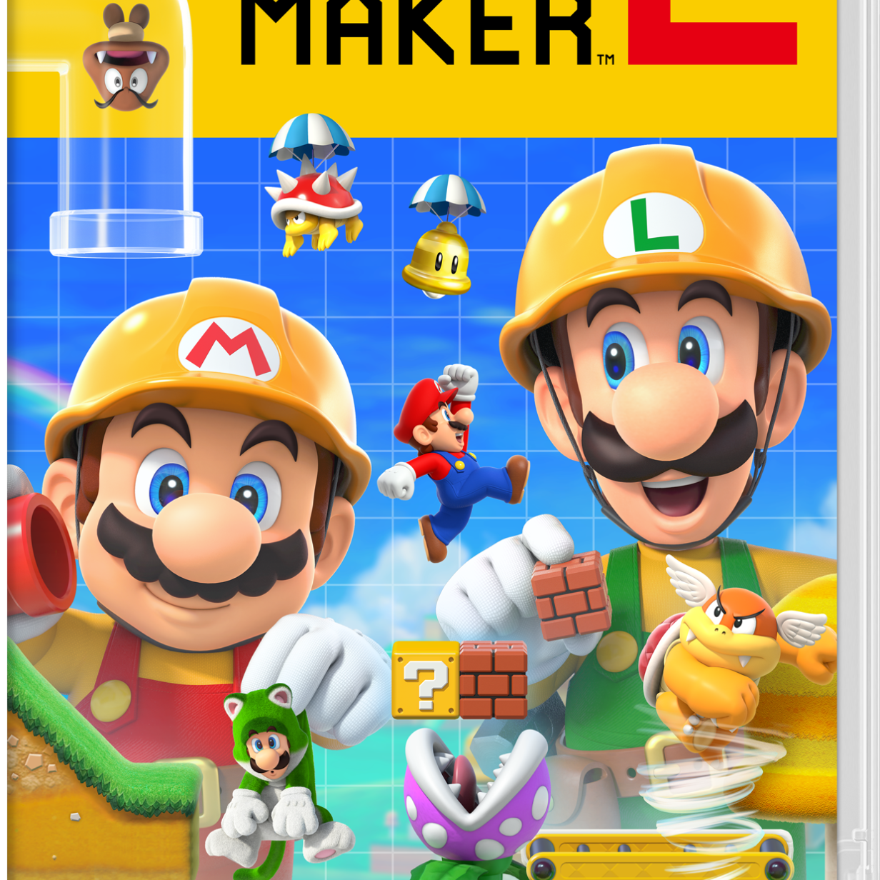Super Mario Maker 2: Nintendo Switch-Package zu gewinnen