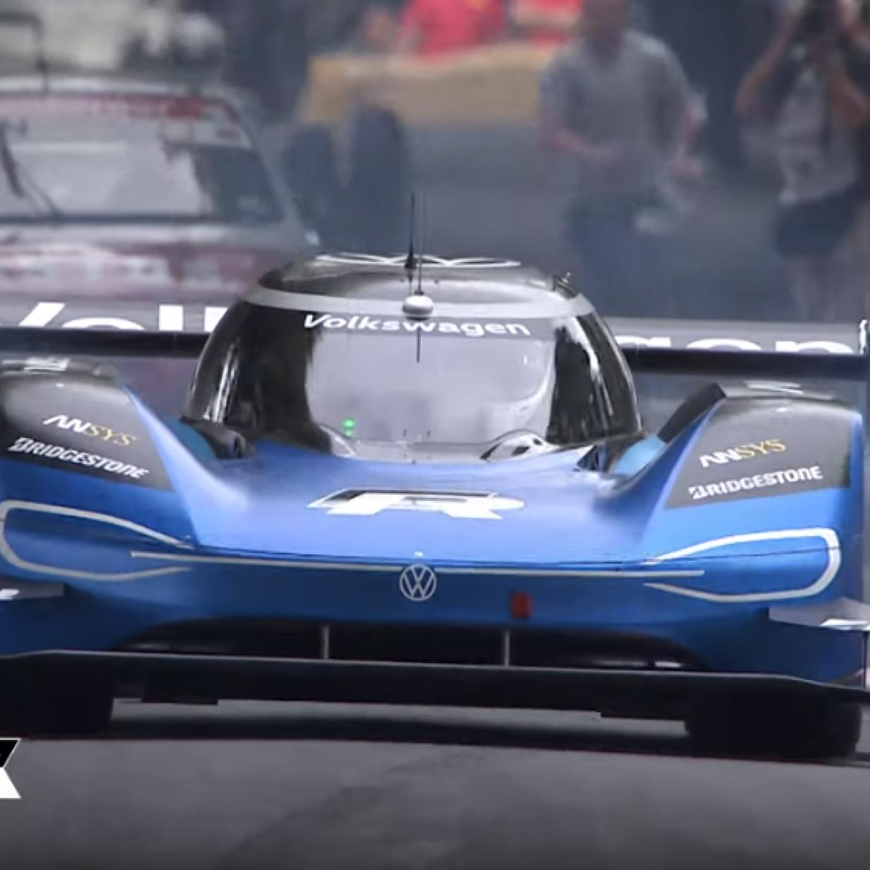 Video: Volkswagen-Elektroauto bricht Rekord von Nick Heidfeld