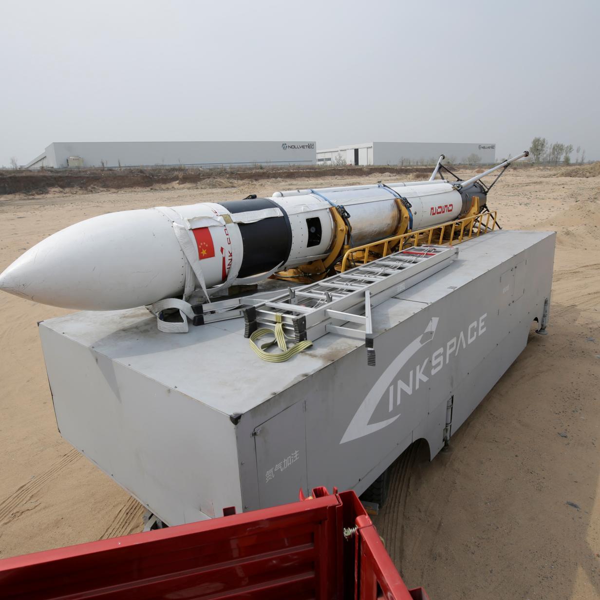 Chinesisches Start-up zeigt perfekte Landung seiner Rakete