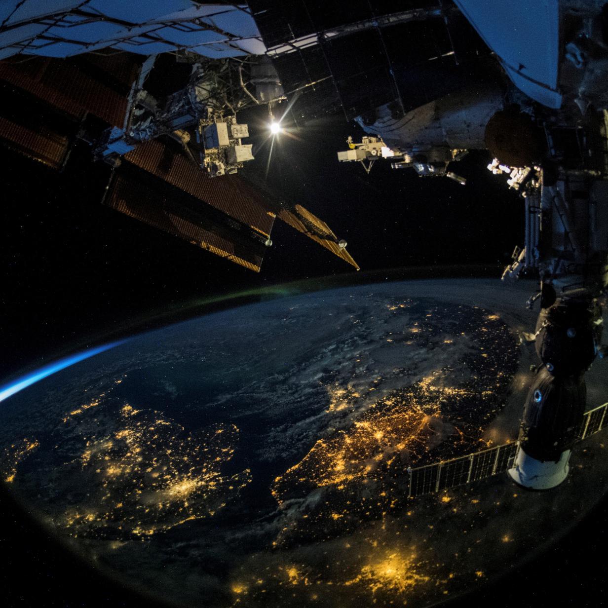Künstliches Licht könnte Aliens auf Erde aufmerksam machen