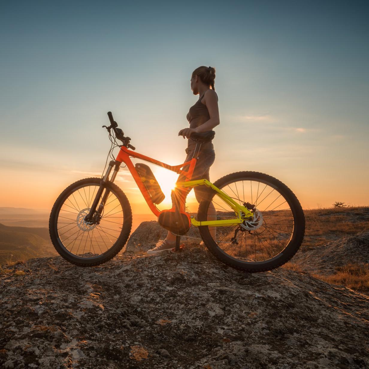 Studie: E-Biker kriegen mehr Bewegung als normale Radler