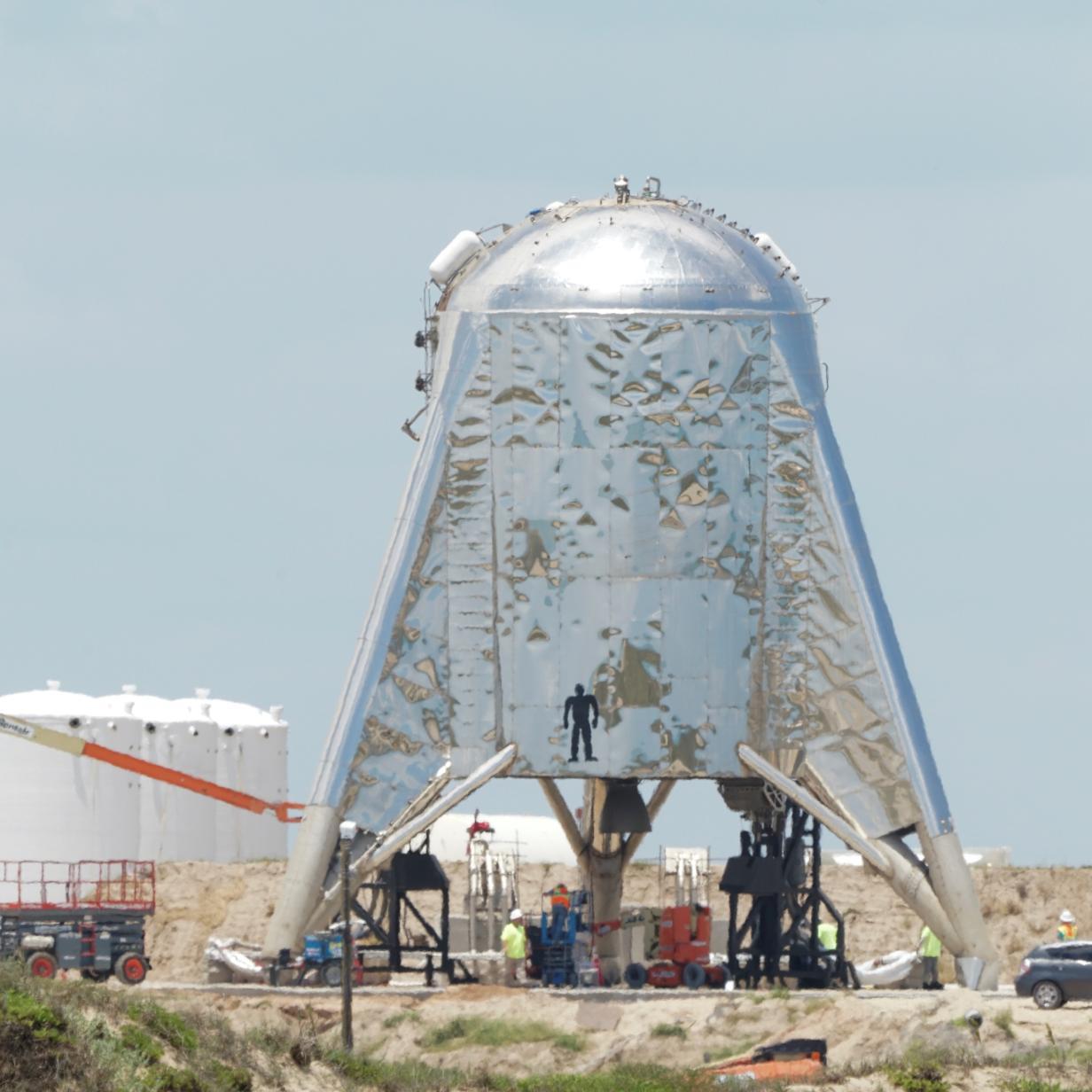 SpaceX verschiebt den Testflug von Starhopper