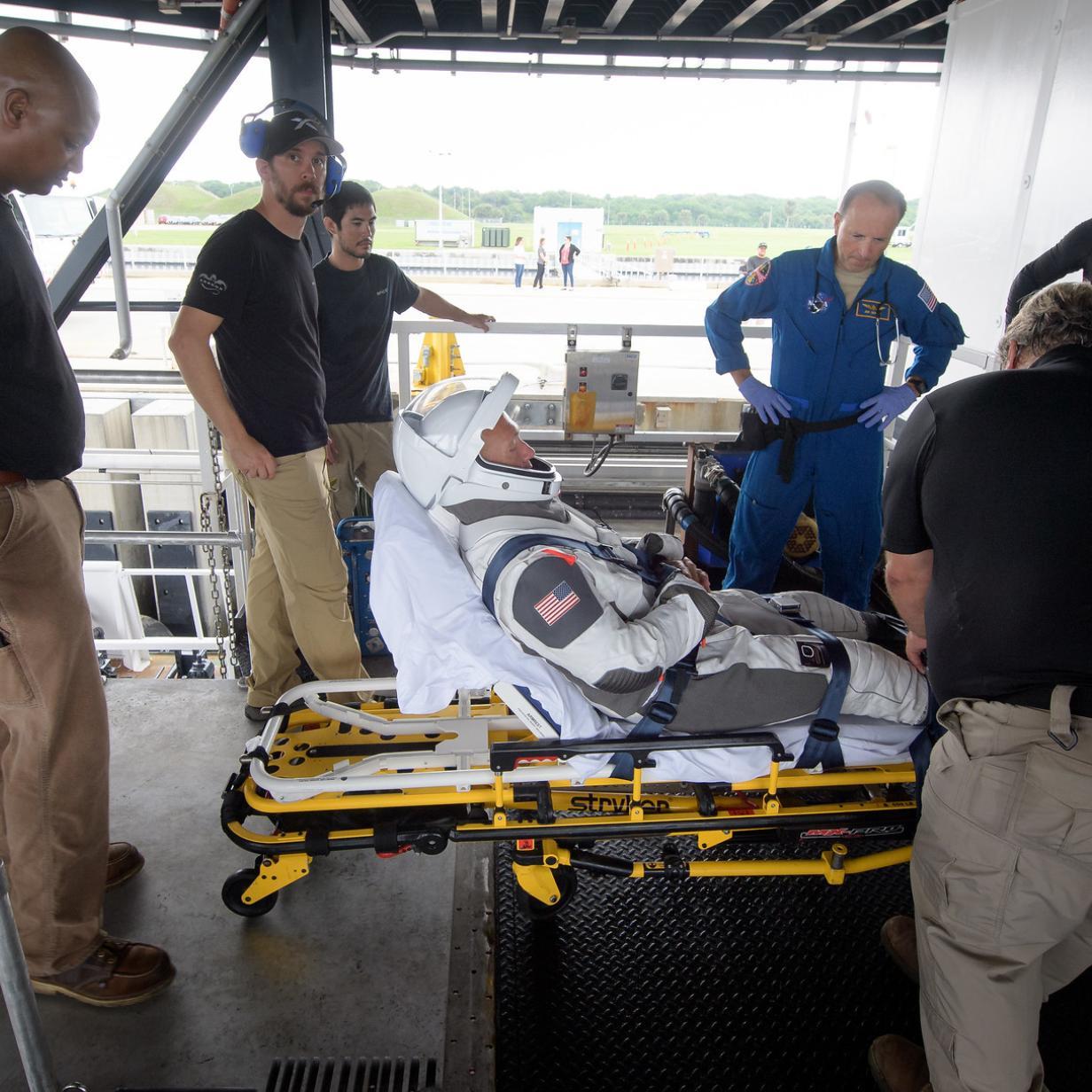 Astronauten aus Raumkapsel gerettet: NASA und SpaceX proben Ernstfall