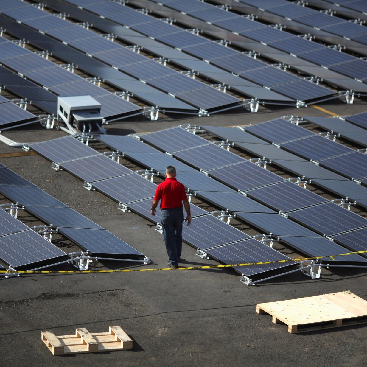 Walmart verklagt Tesla wegen brennender Solarpaneele