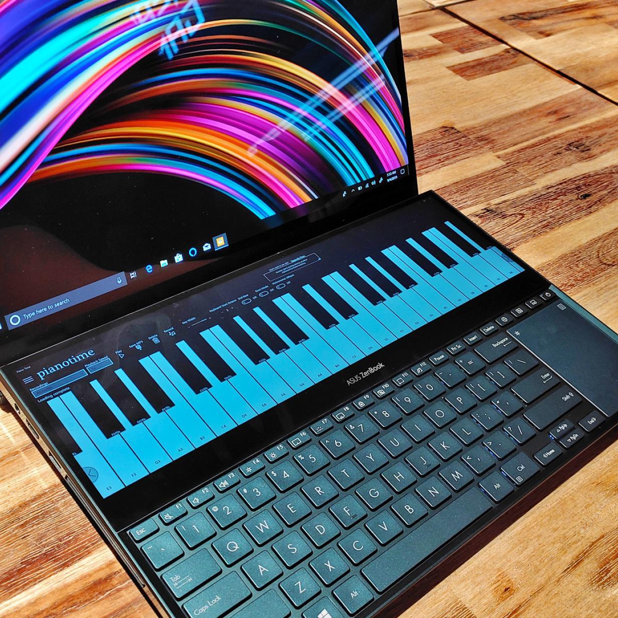 Asus Zenbook Pro Duo: Sinnloser Laptop mit zwei Screens