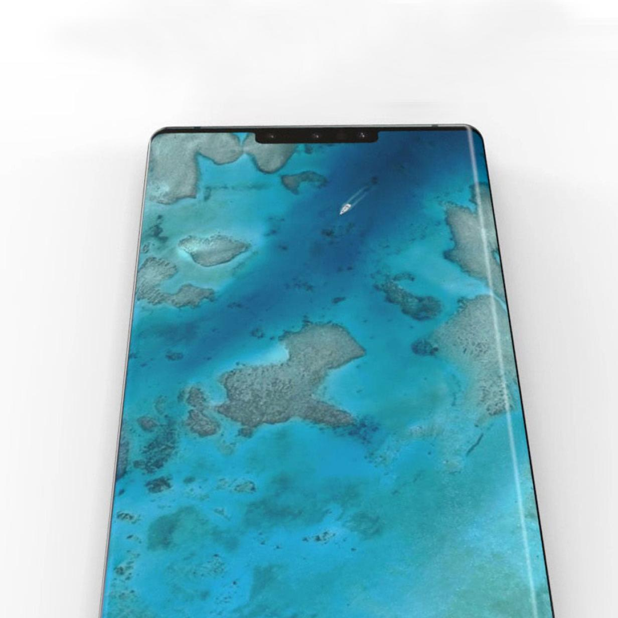 Fotos: Huawei Mate 30 Pro hat extrem gebogenen Bildschirm