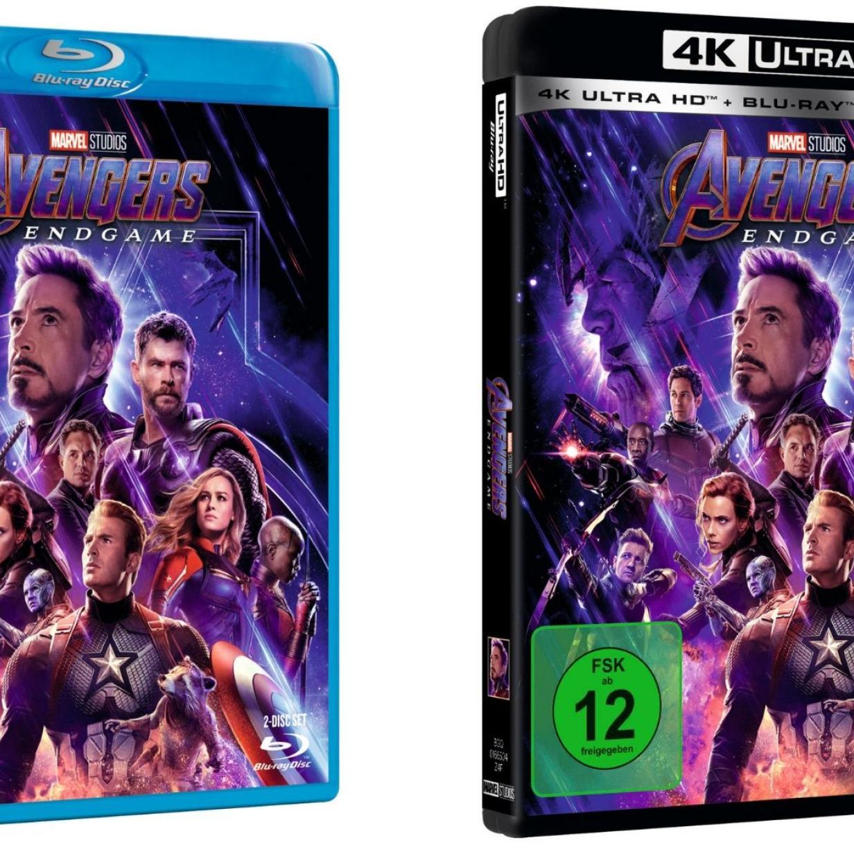 Avengers: Endgame - Blu-rays im Quiz gewinnen