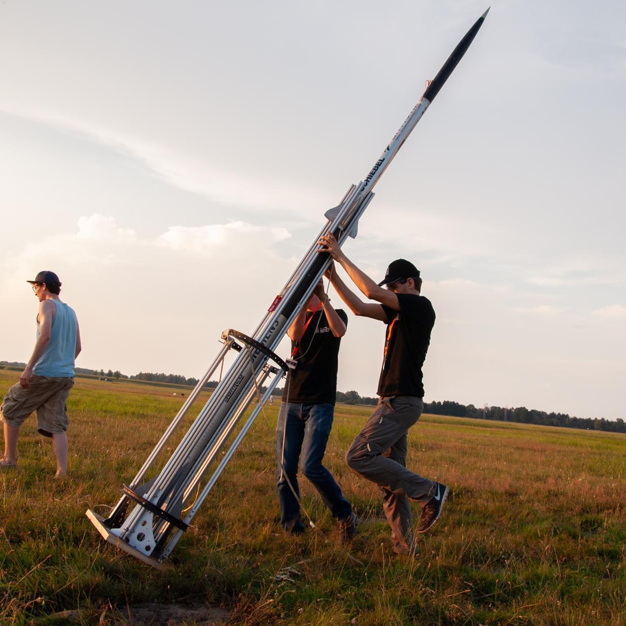 Wiener Space Team versucht Raketen-Weltrekord