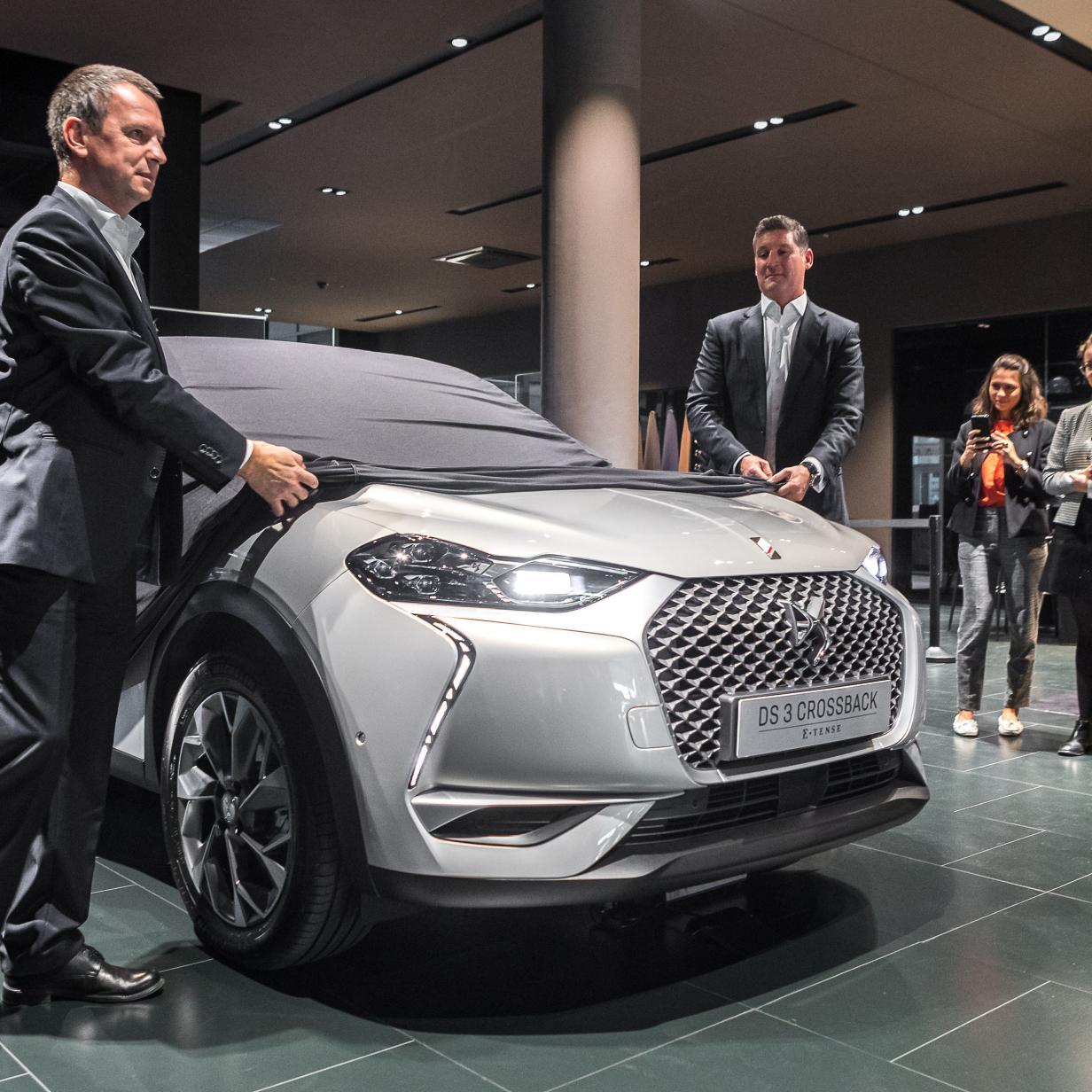 DS kündigt Österreich-Marktstart von elektrischem SUV an