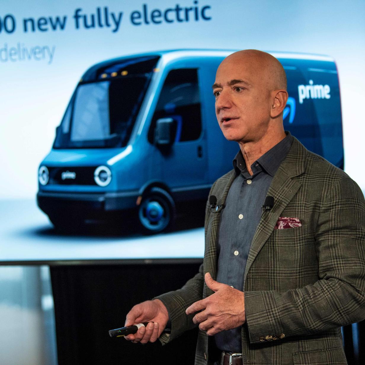 Amazon kauft 100.000 Elektro-Lieferwagen für Paketzustellung