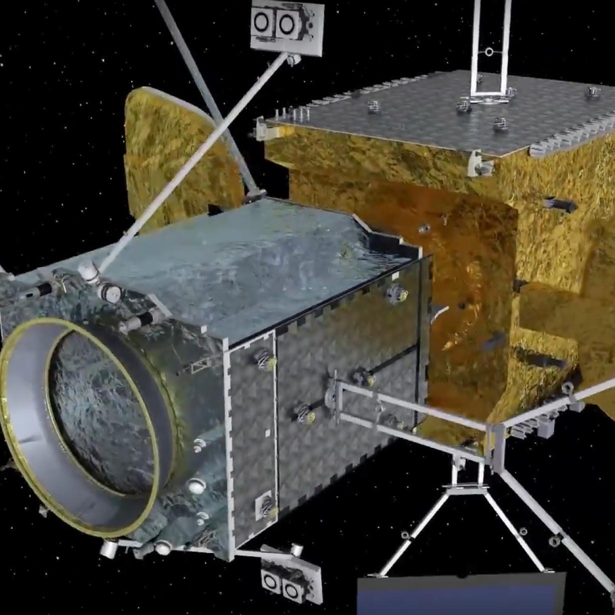 Neues Raumfahrzeug verlängert Einsatzdauer von Satelliten