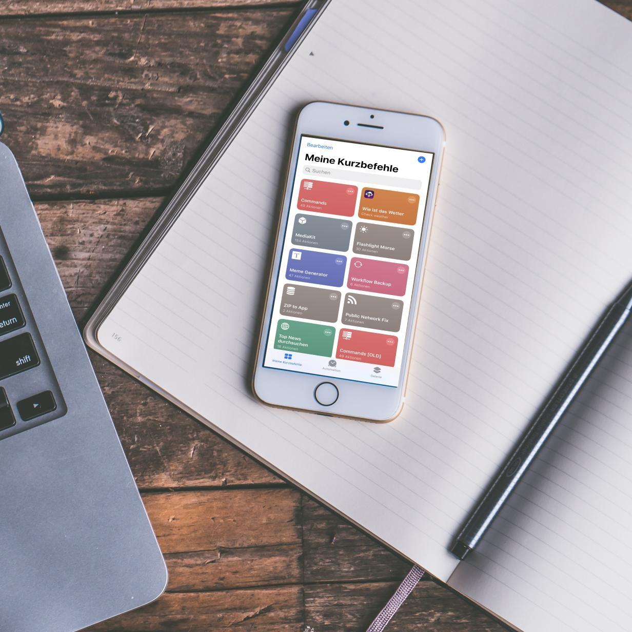 Shortcuts: So funktioniert die iPhone-Automatisierung mit iOS 13