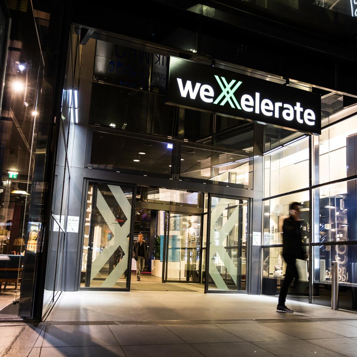 weXelerate: Start-up-Programm geht in die fünfte Runde