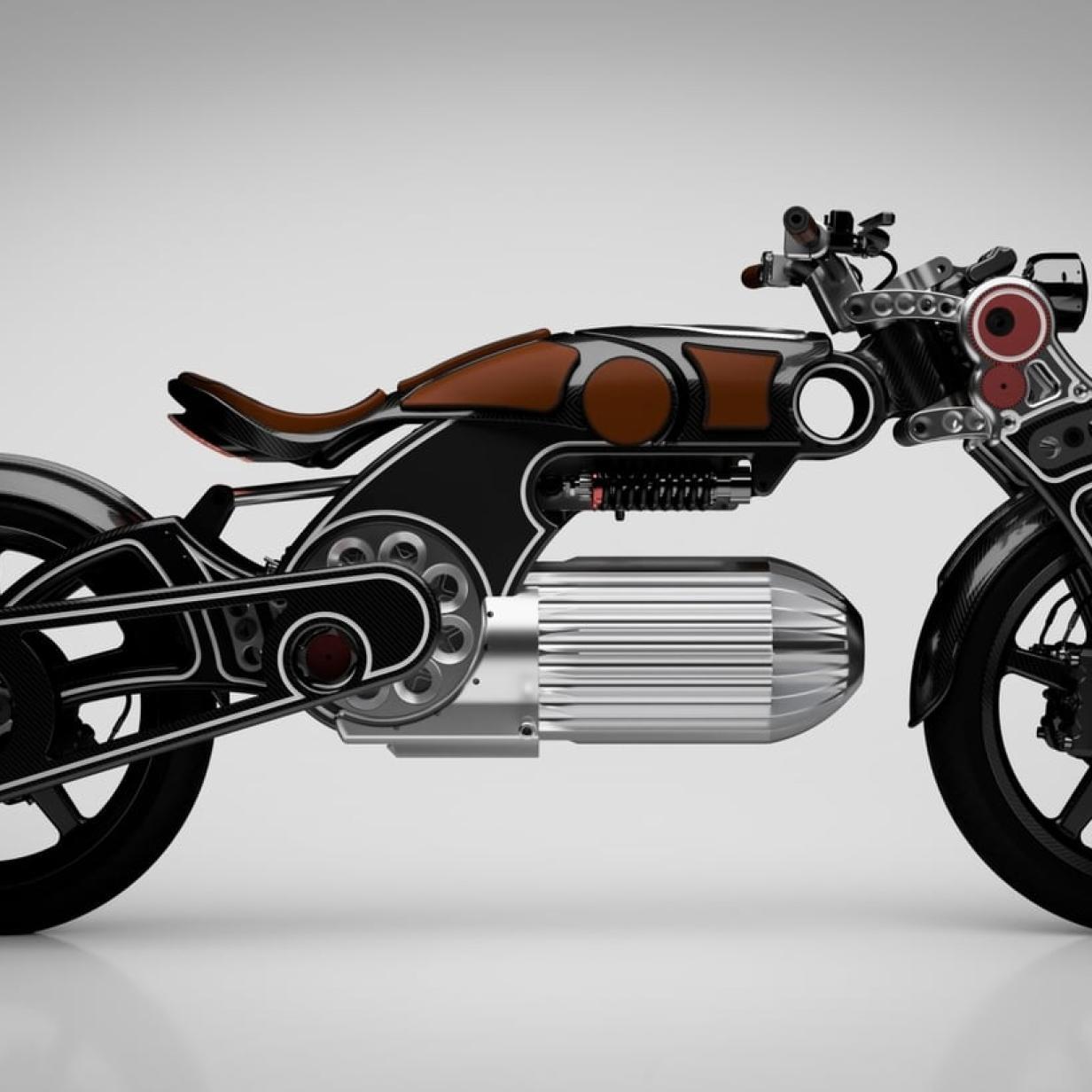 """Elektro-Motorrad """"Hades"""" mit spektakulärem Design enthüllt"""