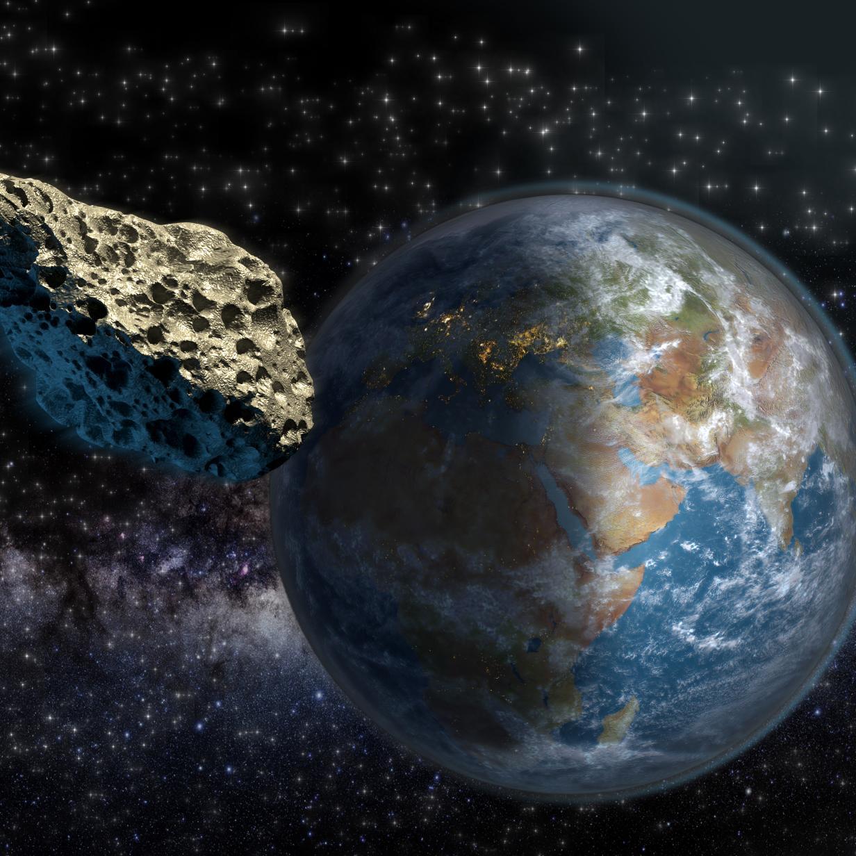 """""""Potenziell gefährlicher"""" Asteroid passiert Erde am Freitag"""