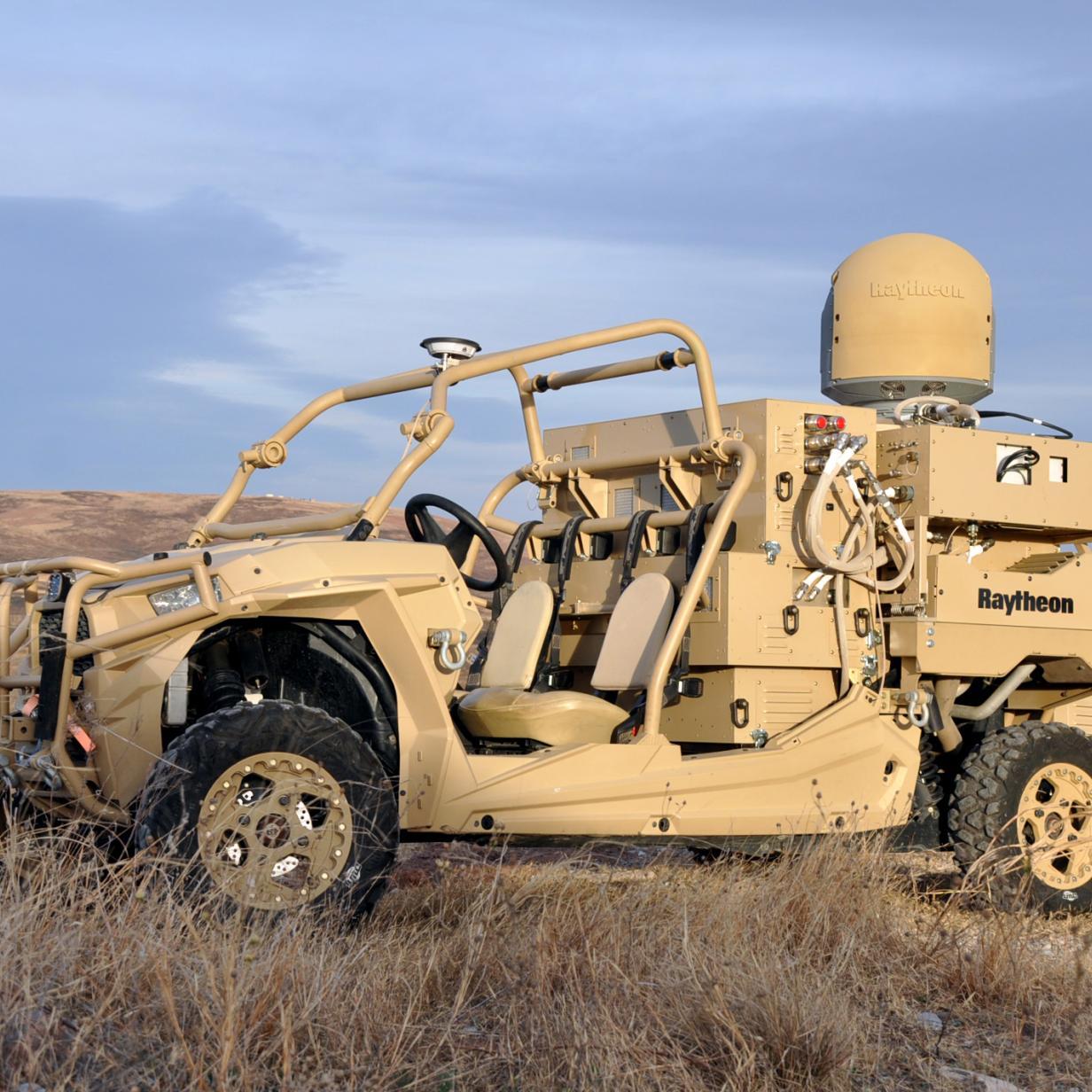 US Air Force setzt jetzt Buggy mit Anti-Drohnen-Laserwaffe ein