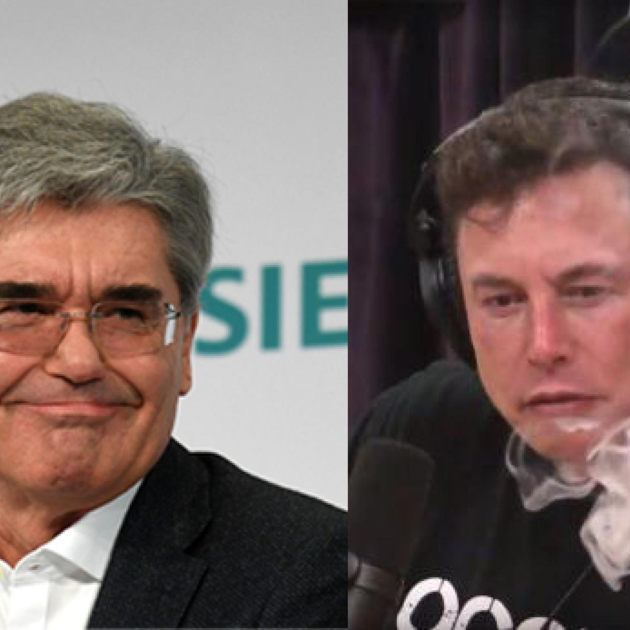 """Siemens-Chef: Mit """"kiffender Kollege"""" war nicht Elon Musk gemeint"""