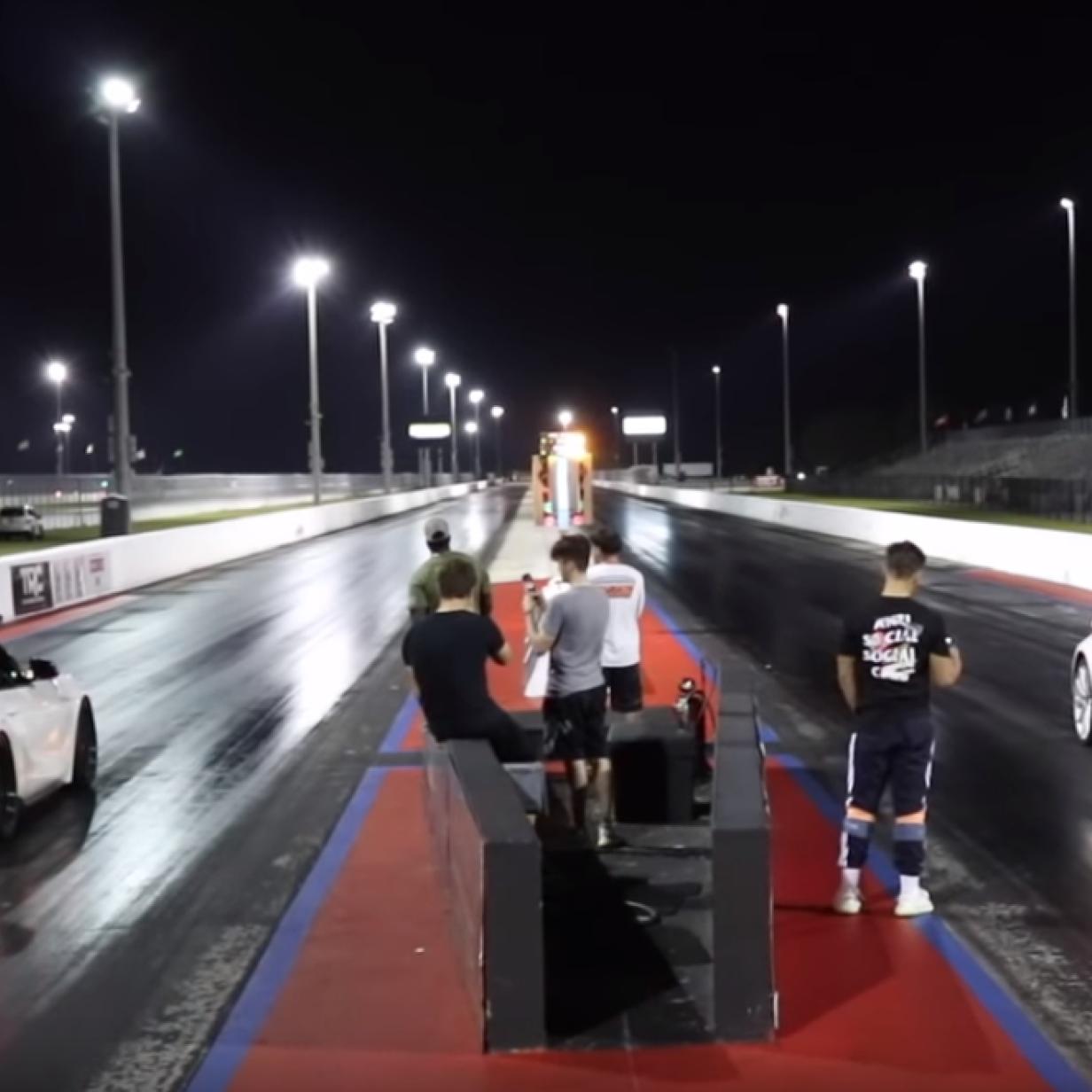 Video: Tesla Model 3 im Drag-Race gegen Toyota Supra mit 500 PS