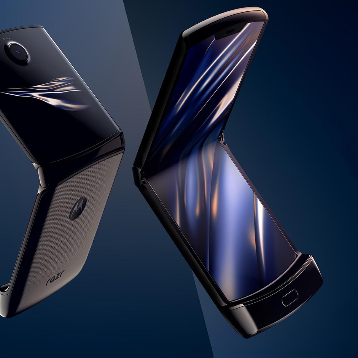 Motorola Razr: Klapp-Handy mit faltbarem Display präsentiert
