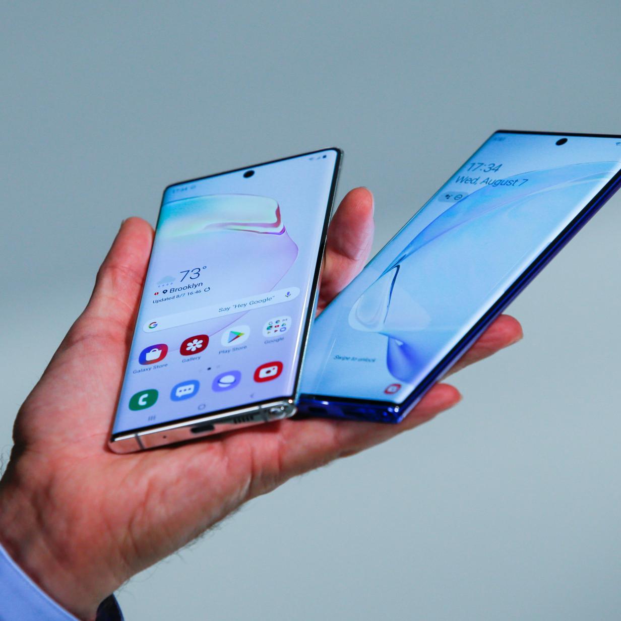 Neue Samsung-Handys sollen ultradünnes Glas bekommen
