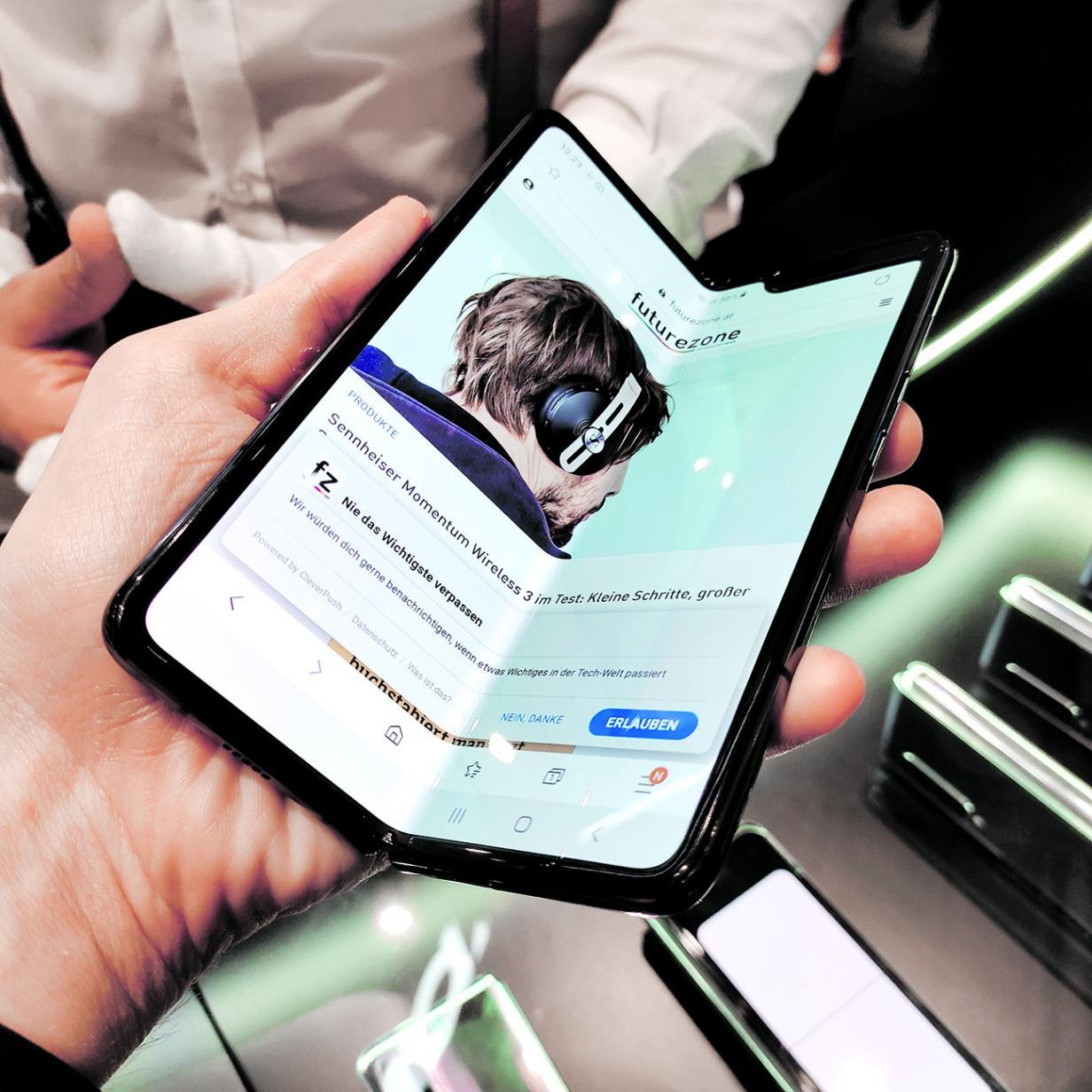 So viele Galaxy Fold hat Samsung verkauft